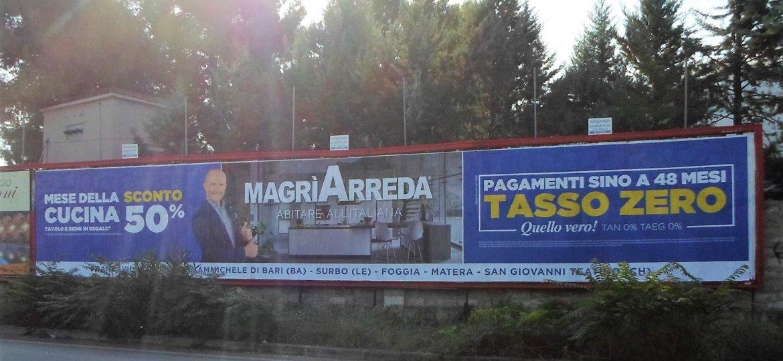 Magrì Arreda Sangiorgio Pubblicità
