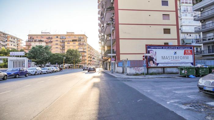 1990 – Via Bari angolo via Pisa – Taranto