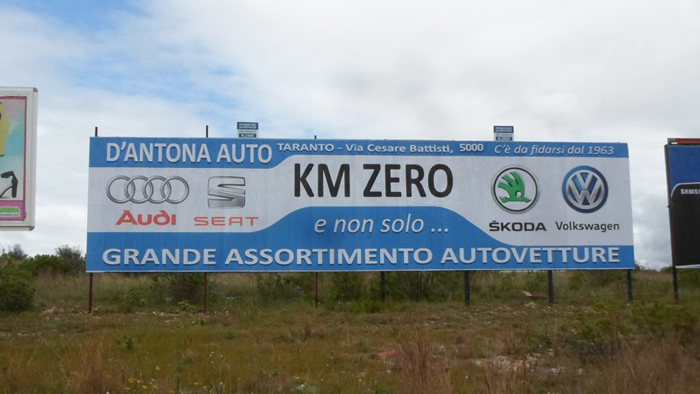 12×3 Via per Montemesola rondò Ipercoop – Taranto